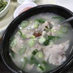 韓国釜山 食べ物編 その9〜有名なテジクッパ〜